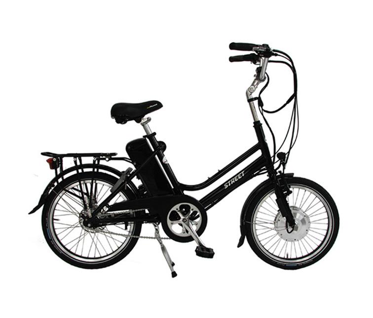 Orange Black Moped 50cc