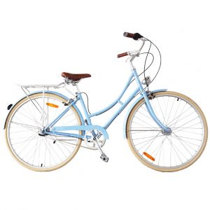 cybele step thru commuter bicycle