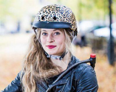 Sawako Furuno: Leopard Helmet