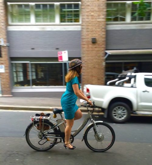How to Bicycle to Work: A Guide for Women