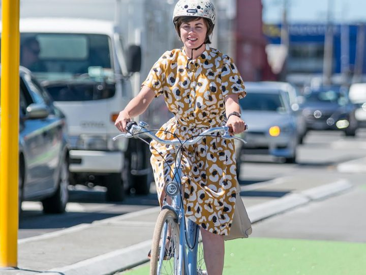 Overcoming my dress and bike dilemma