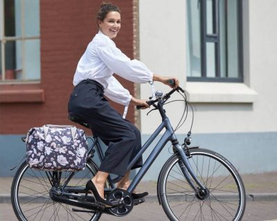 Basil: Magnolia Carry All Bicycle Pannier