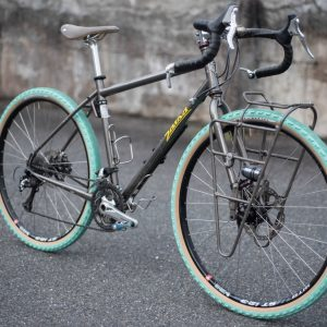 Sim Works x Panaracer The Homage Green Gravel Tyres