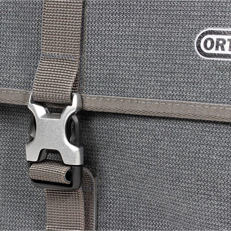 Ortlieb Commuter Pannier Grey detail