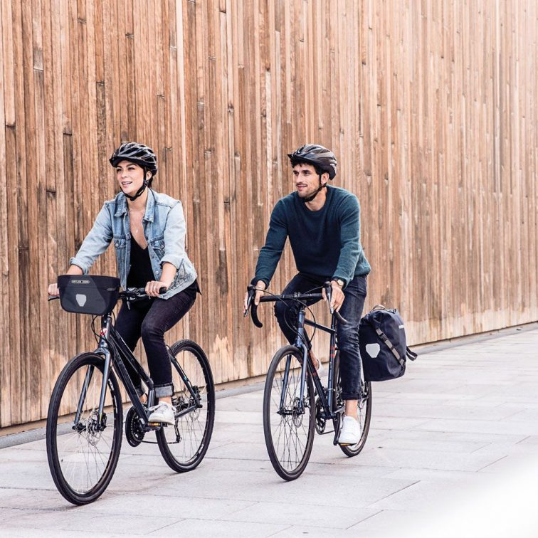 Ortlieb Backroller Urban bicycle Pannier Style photo