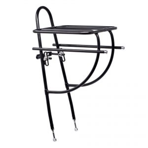 Sim Works x Nitto potluck black front bicycle rack