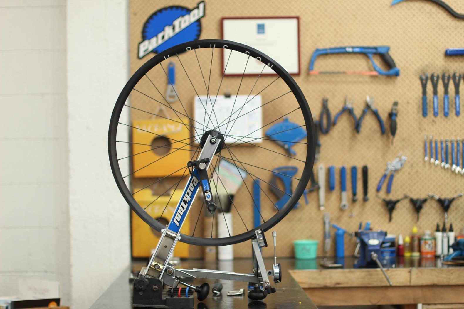 Wheel sets made at Action Bicycle Club