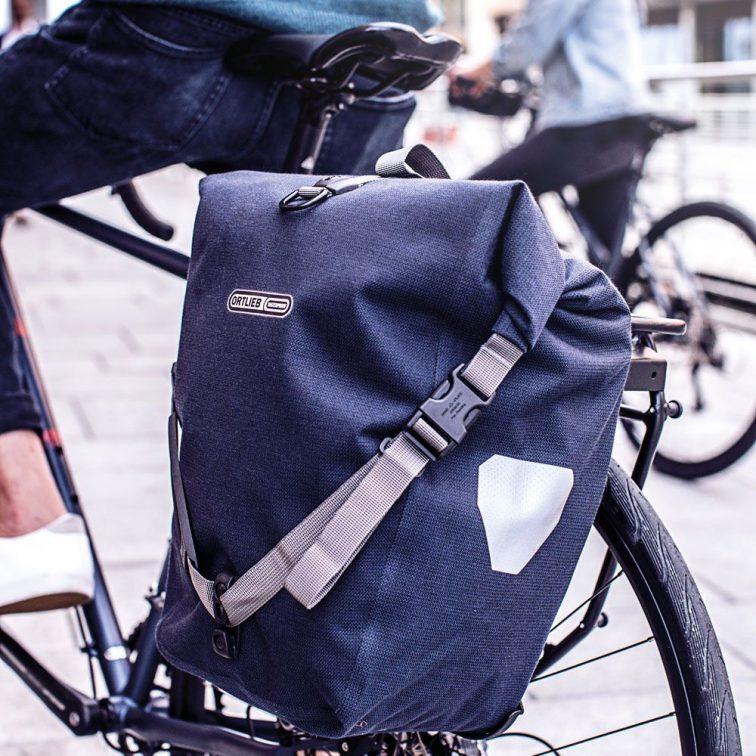 Ortlieb Backroller Urban Pannier Blue